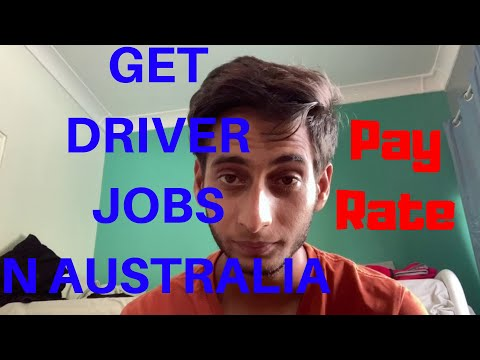 HOW TO GET DRIVER JOBS IN AUSTRALIA | salary you get