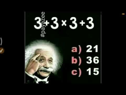 Puzzle Answer: Solve The Equation 3+3x3+3