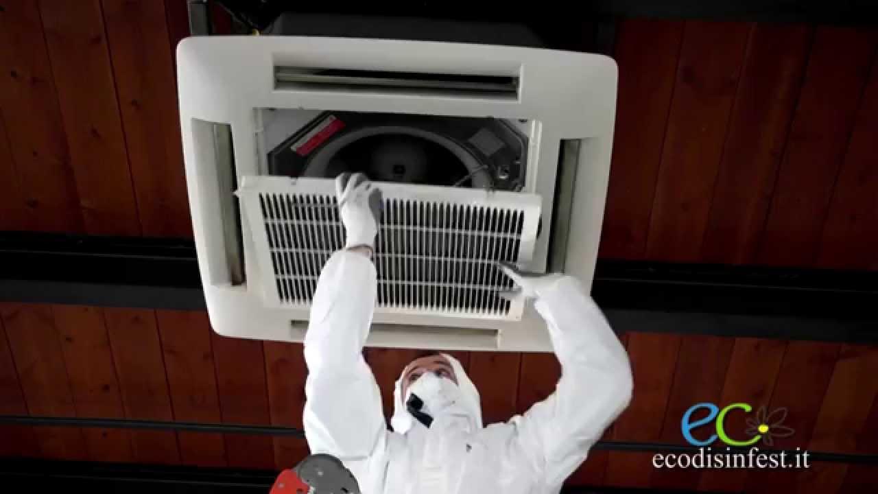 Sanificazione pulizia e disinfezione condizionatore split for Fan condizionatore significato
