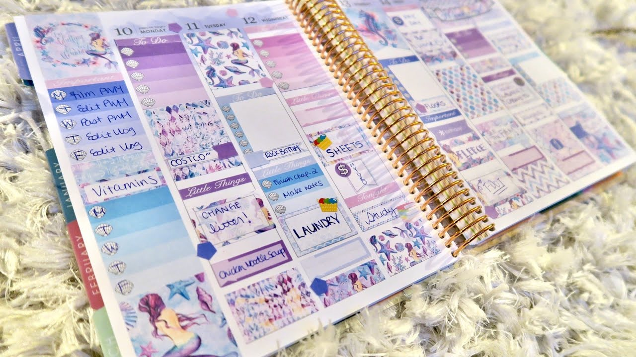 plan with me the white poppy paper pwm erin condren vertical