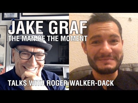 Jake Graf - The Man of the Moment - talks with Roger Walker-Dack