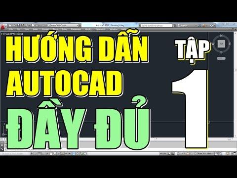 ✔ Tải & Cài AutoCAD 2013 • AutoCAD Đầy Đủ • Tập 1 [RE-UP]