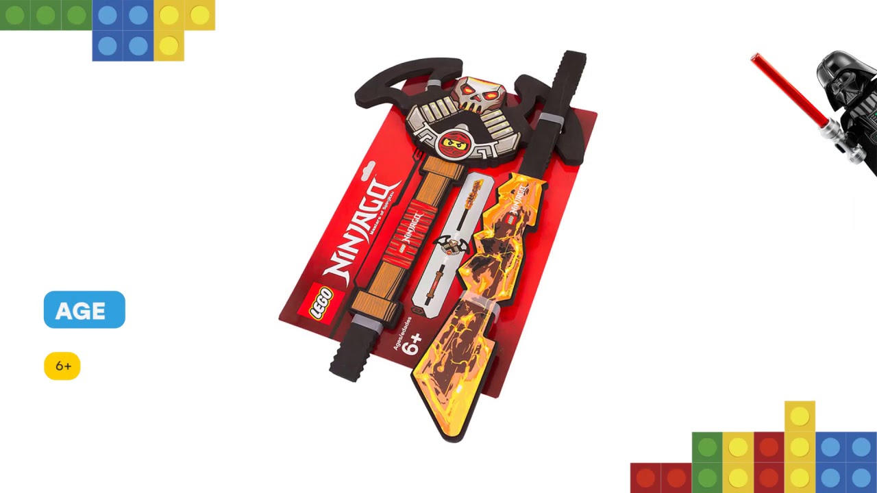 lego ninjago customizable sword 853529 Brand new