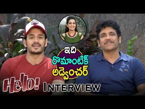 Nagarjuna And Akhil Interview About Hello...