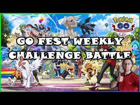 GO FEST WEEKLY CHALLENGE BATTLE | НЕ ПРОПУСТИТЕ НОВЫЙ КВЕСТ