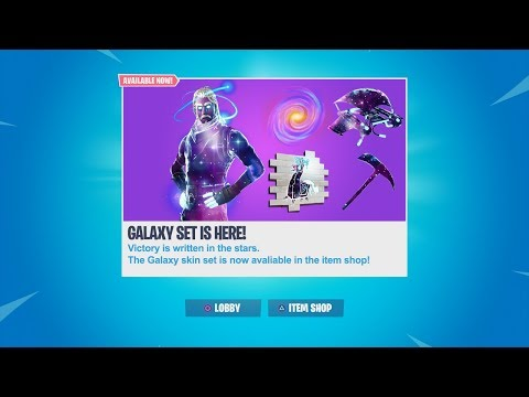 THE GALAXY SKIN IS COMING TO THE ITEM SHOP! GALAXY SKIN RETURNING DATE CONFIRMED!