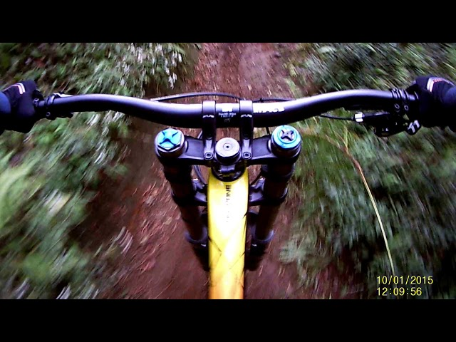 Test ride polygon xquarone DH9 (^_-)