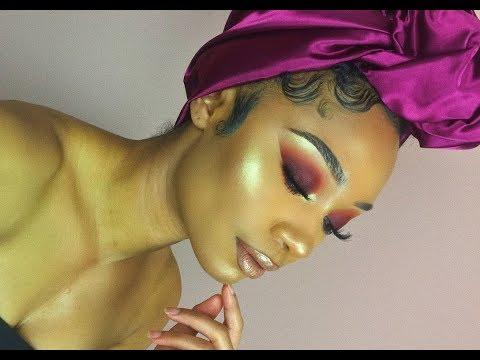 Warm Matte Smokey Makeup Look | MakeupTiffanyJ