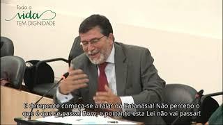 António Pinheiro Torres no Parlamento sobre Eutanásia