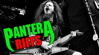 7 Metal Guitar Riffs That Prove Cowboys From Hell Is The Best Pantera Album Ever RIP DIME