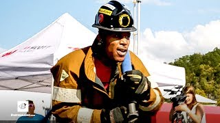 Firefighter Challenge | On the Go With Ron