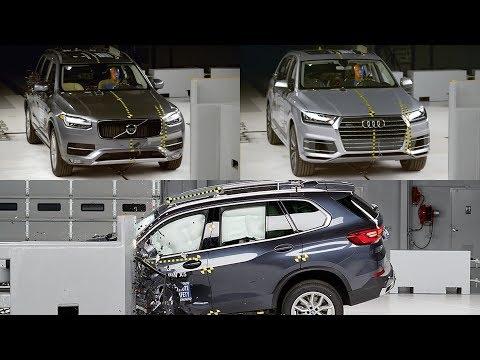 2019 BMW X5 vs Audi Q7 vs Volvo XC90 - CRASH TEST