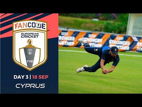 🔴 FanCode European Cricket T10 Cyprus,  Limassol | Day 3 T10 Live Cricket