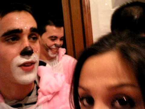 maquillaje pantera rosa