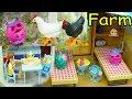 Season 8 World Vacation Shopkins Stay at Playmobil Farm - Toy Play Video