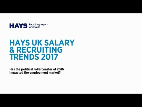 Watch Hays UK Salary & Recruiting trends webinar for Procurement and Supply Chain professionals