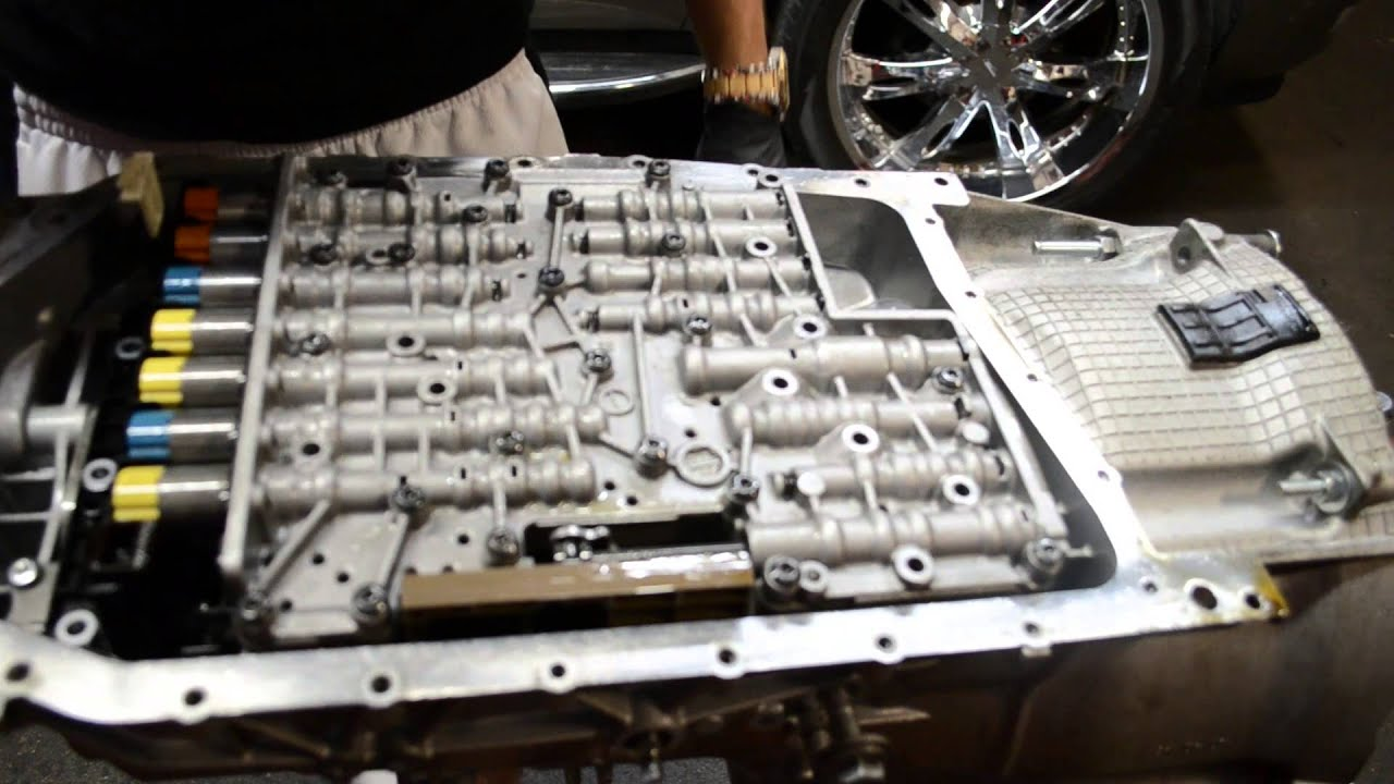 Zf6hp21 19 Valvebody Removal 335i Youtube