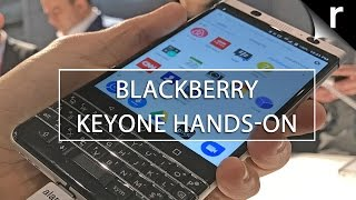 BlackBerry KEYOne Hands-on Review: Android + BB10 = win