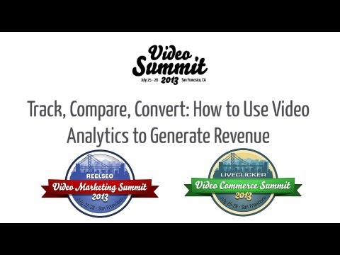 How to Use Video Analytics to Generate Revenue ► 2013 Video