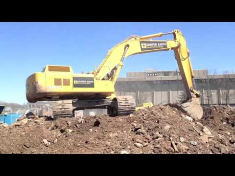 Center Earth Mass Excavation Yard Goats Stadium