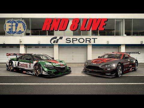 GT Sport FIA Rnd 8 In The Heat