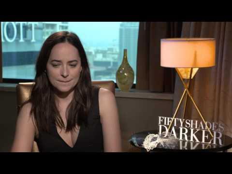 Dakota Johnson Raw Interview Fifty Shades Darker Exclusive!