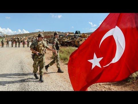 Turkish troops make