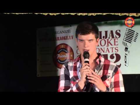 Latvias karaoke cempionats2012 Edgars Karklins