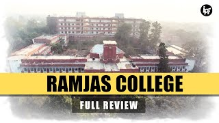 🔴 Ramjas College Delhi Review | Placements | Admission Process | Hostel | Campus | Fees