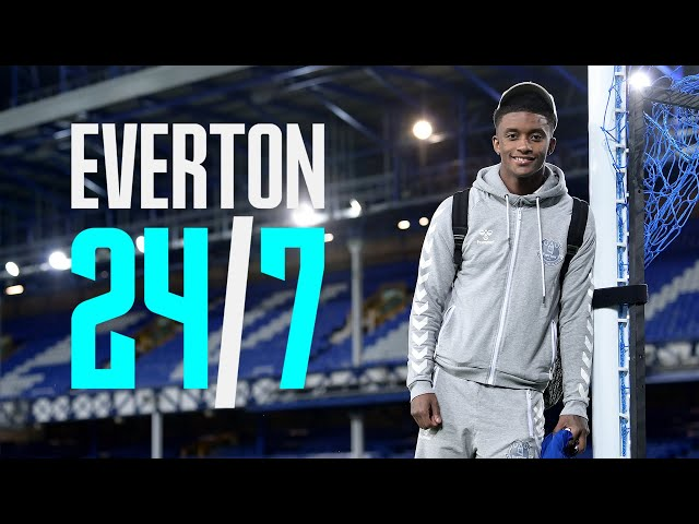 EVERTON 24/7: EP.1 DEMARAI GRAY | AT HOME AND BEHIND THE SCENES WITH THE BLUES!