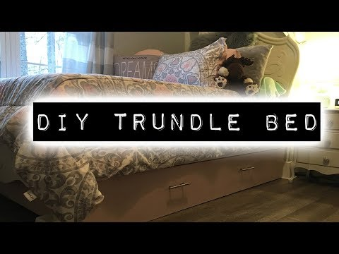 How To Make A Trundle Bed | DIY & Home Improvement