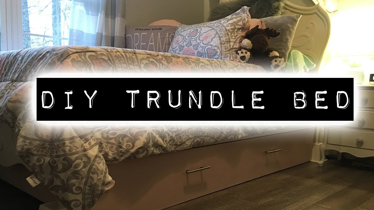 How To Make A Trundle Bed Diy Home Improvement