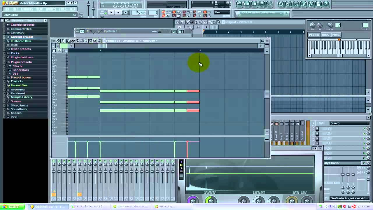 Easy chord progressions and melodies with FL Studio