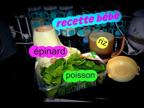 recette-bebe-«-épinard-poisson-riz-»-au-babycook