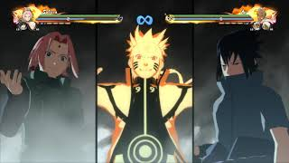 Naruto Shippuden ultimate ninja storm4 best fights!best Music This is War-30 seconds to Mars