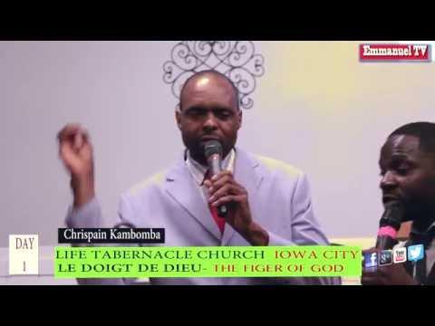 Evangile Eternel- LE DOIGT DE DIEU - Chrispain Kambomba de Iowa City
