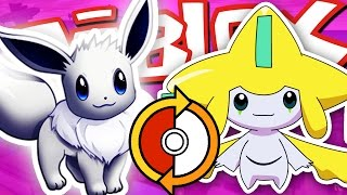 SHINY EEVEE FOR LEGENDARY JIRACHI!! / Roblox Adventure / Pokemon Brick Bronze