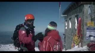La magia del mejor esquí en la Laguna de las Yeguas