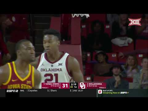 Iowa State vs Oklahoma Men's Basketball Highlights