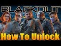How to Unlock Characters in Blackout Battle Royale?