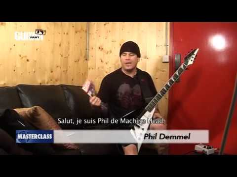 MASTERCLASS GUITAR PART 211 - MACHINE HEAD PHIL DEMMEL 2010