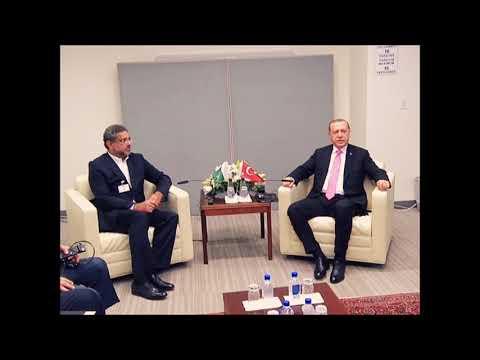 PM Shahid Khaqan Abbasi meets Turkish President Recep Tayyip Erdogan, VNS Pakistan