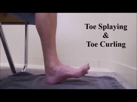 Toe Splaying & Toe Curling