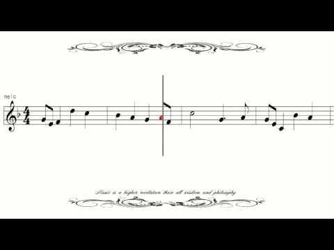 [Sheet Music] German National Anthem Deutschlandlied ドイツ国歌
