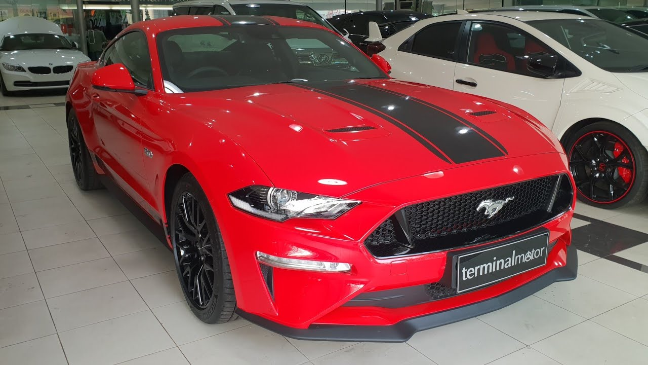 Ford mustang gt 5 0 v8 2018 facelift in depth review indonesia