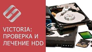 Инструкция по использованию Victoria для проверки и лечения жесткого диска на русском    ️