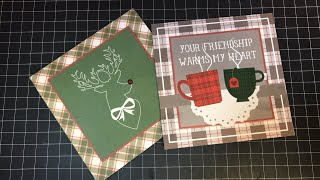 A la Card kit by Mad 4 Plaid a make and take