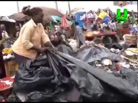 Filth engulfs some trading centers in Kumasi
