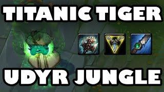 Titanic Tiger | Udyr Jungle Ranked Gameplay [7.19]