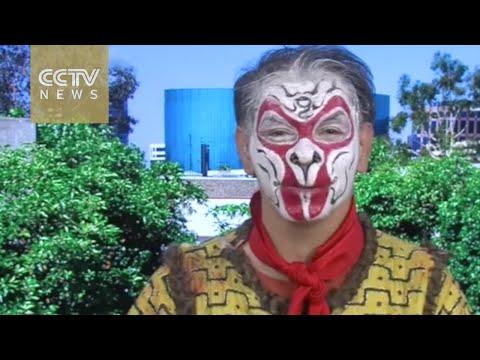 Word Insight: Iranian-British Man Plays Monkey King Character In Peking Opera